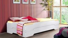 rozkladacia postel mia natur biele